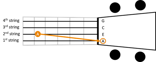 Low tuning 1st string